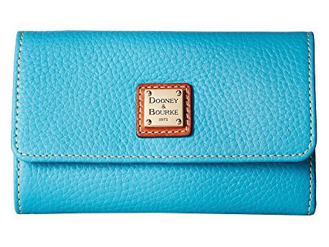 Dooney & Bourke Pebble Flap Wallet at Zappos.com