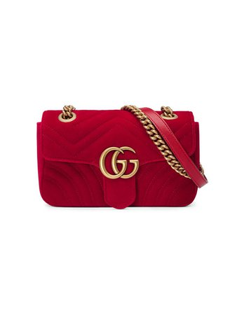 Gucci Minisac à Motif GG Marmont - Farfetch