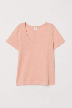 Slub Jersey T-shirt - Orange
