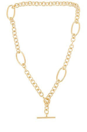 Cloverpost Theory Necklace in Yellow Gold | REVOLVE