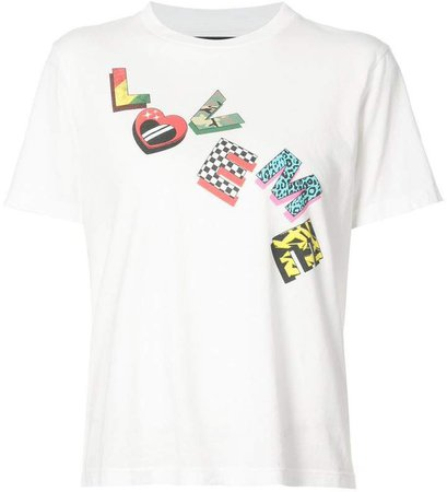 Love Me Not printed T-shirt