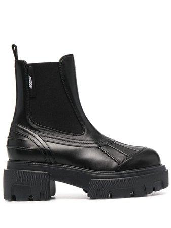 MSGM Chunky mid-heel Chelsea Boots - Farfetch