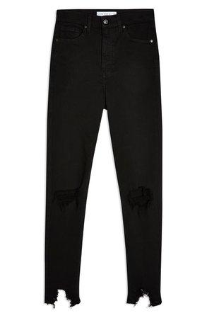 Topshop Austin Jame Moto Rip Jeans (Petite)   Nordstrom
