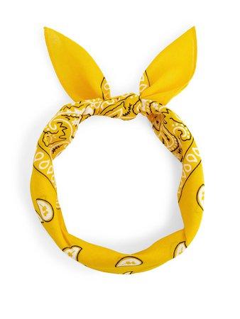 yellow bandana - Google Search