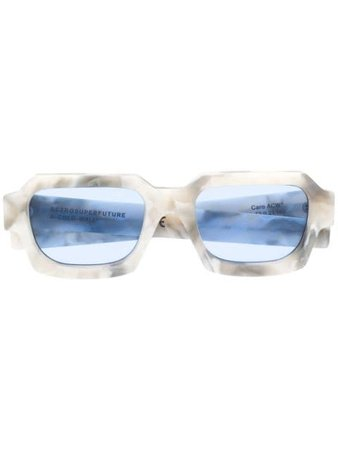 A-COLD-WALL* marble-effect Sunglasses - Farfetch