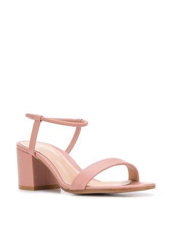 Gianvito Rossi Block Heel Sandals | Farfetch.com