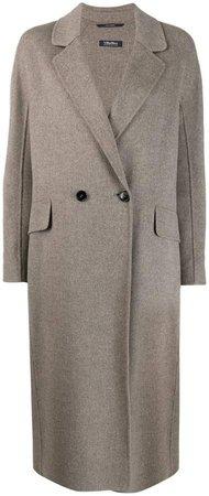 'S cocoon coat
