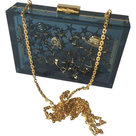 blue gold purse cross body