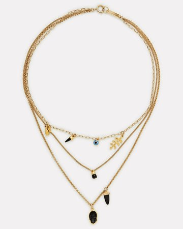 Isabel Marant New It's All Right Layered Necklace | INTERMIX®