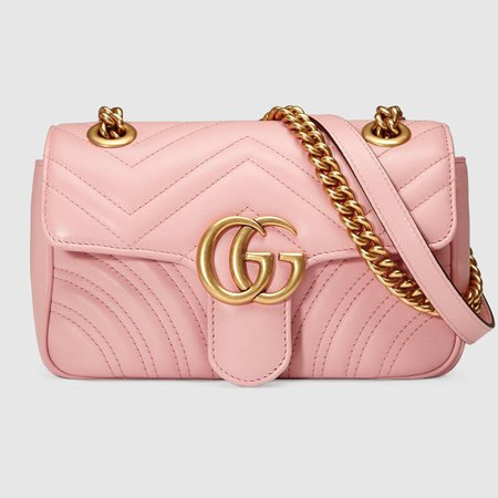 GG Marmont matelassé mini bag - Gucci Shoulder Bags 446744DTDIT5909