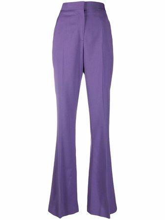 MSGM Pantalon Évasé à Taille Haute - Farfetch