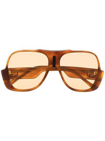 Gucci Eyewear Oversized Sunglasses - Farfetch