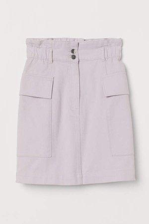 Utility Skirt - Purple