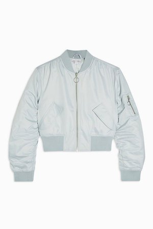 Mint Bomber Jacket | Topshop