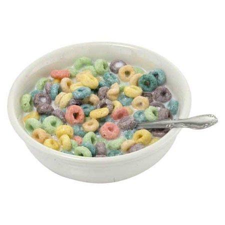 Bowl of Fruit Loops