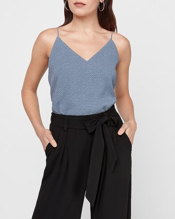 Textured Dot Downtown Cami