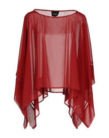 Atos Lombardini Cape - Women Atos Lombardini Cloaks online on YOOX United States - 38692223NH