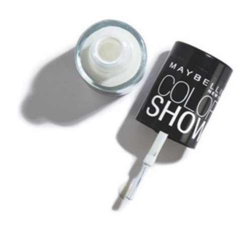 maybelline white nail polish