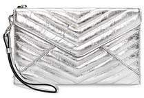 Quilted Leo Wristlet