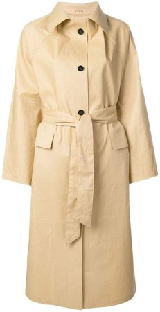 Kassl belted trench coat
