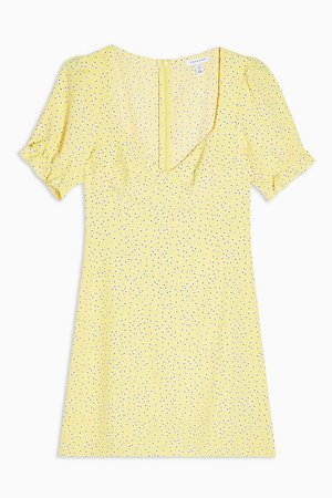 Yellow Prairie Mini Dress | Topshop