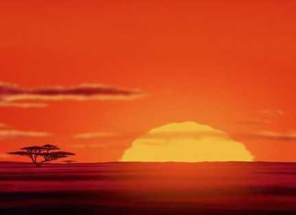 Lion King Sunrise