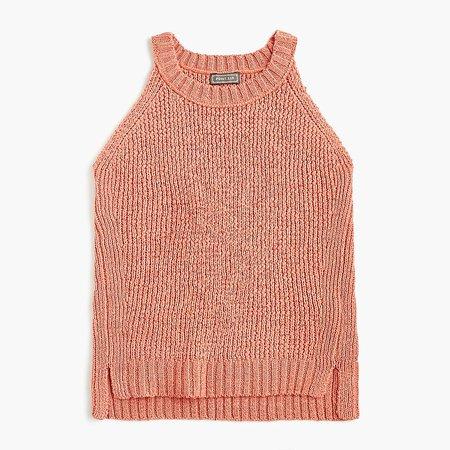 J.Crew: Sweater Tank in Dusty Peach