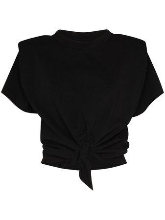Isabel Marant Belita tie-waist T-shirt - Farfetch