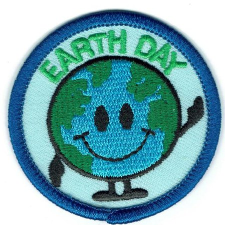 Girl Boy Cub EARTH DAY SMILE CELEBRATION Patches Crest Badge SCOUT GUIDE world | eBay