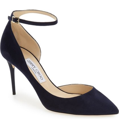 'Lucy' Half d'Orsay Pointy Toe Pump | Nordstrom