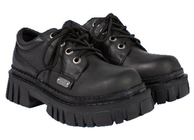 unif black shoes