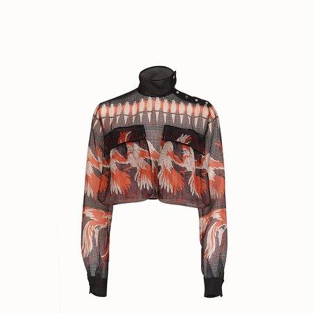 Multicolor mesh blouse - BLOUSE   Fendi