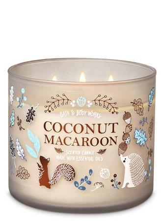Coconut Macaroon 3-Wick Candle | Bath & Body Works