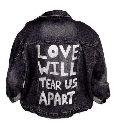 joy division denim jacket