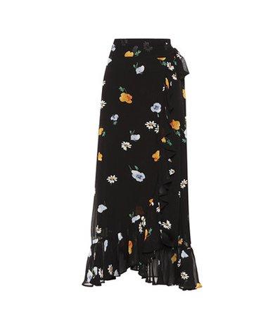 Dainty Georgette wrap skirt