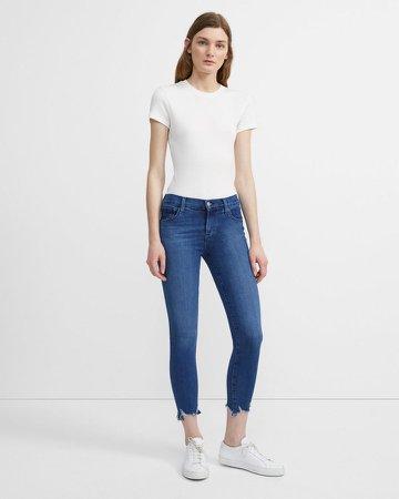 835 Mid-Rise Crop Skinny Jean