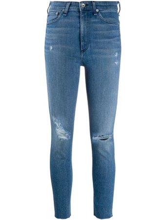 Rag & Bone Nina high-rise Skinny Jeans - Farfetch