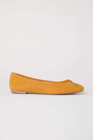 Ballet Flats - Yellow