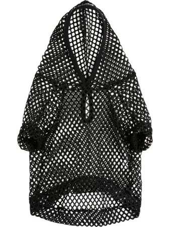 Petements Pet Mesh Hoodie MESHHOODY Black | Farfetch
