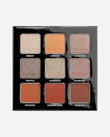 Sigma Beauty Fiery Eyeshadow Palette