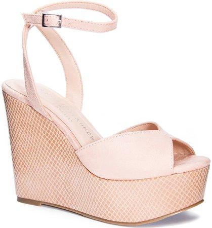 Chinese Laundry Ellia Ankle Strap Platform Wedge Sandal (Women) | Nordstrom