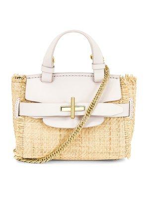 Zac Zac Posen Brigette Mini Top Handle Bag in Multi Rose Quartz   REVOLVE
