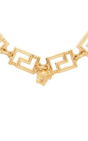Grecamania Gold-Plated Bracelet By Versace | Moda Operandi