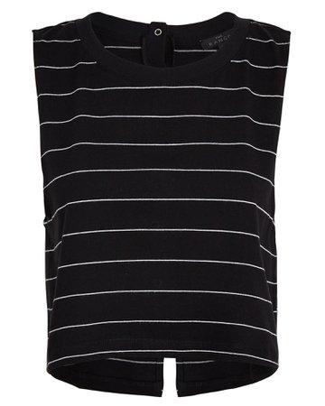 The Range Striped Snap Back Muscle Tank | INTERMIX®