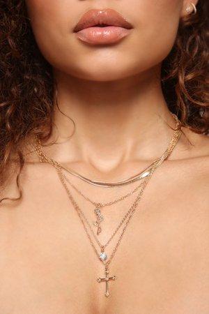 Rose Garden Necklace - Gold – Fashion Nova