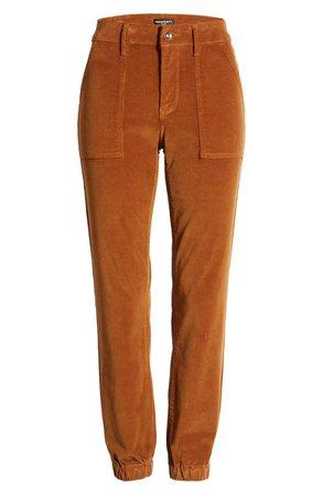 Prosperity Denim Corduroy Jogger Pants brown