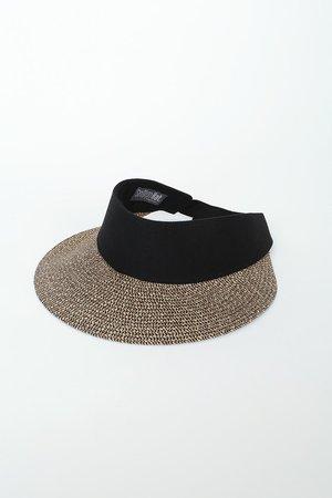 San Diego Hat Co. Visor - Straw Visor - Straw Sun Hat