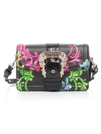 Versace Jeans Couture Crossbody W/gold Buckle Fantasy