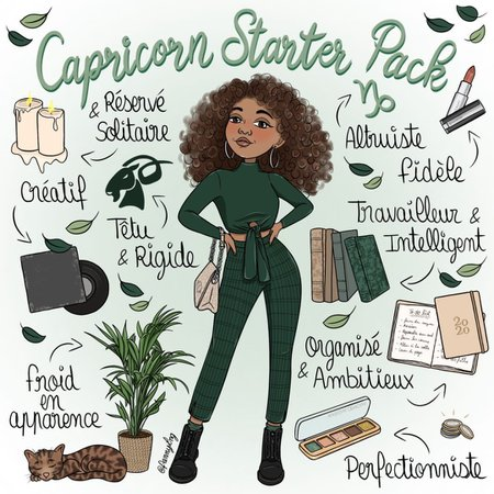 Capricorn Starter Pack