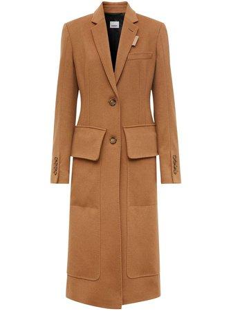 Burberry notched-lapel single-brasted Coat - Farfetch